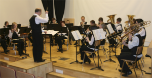 The seminar was opened by the Toholampi student orchestra.
