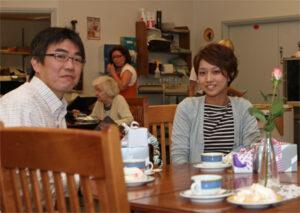 Kenichi Kuratani ja Yuka Oonishi saivat Villa Tapiolasta paljon kotiin vietävää.